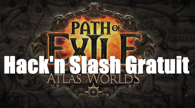 hack n slash gratuit path of exile