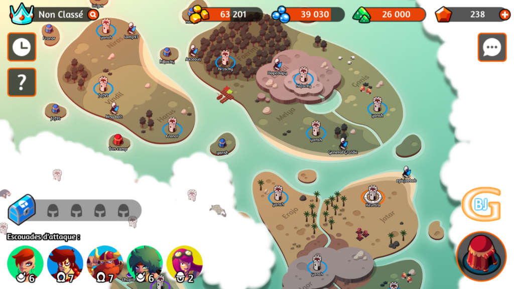 carte battleplans