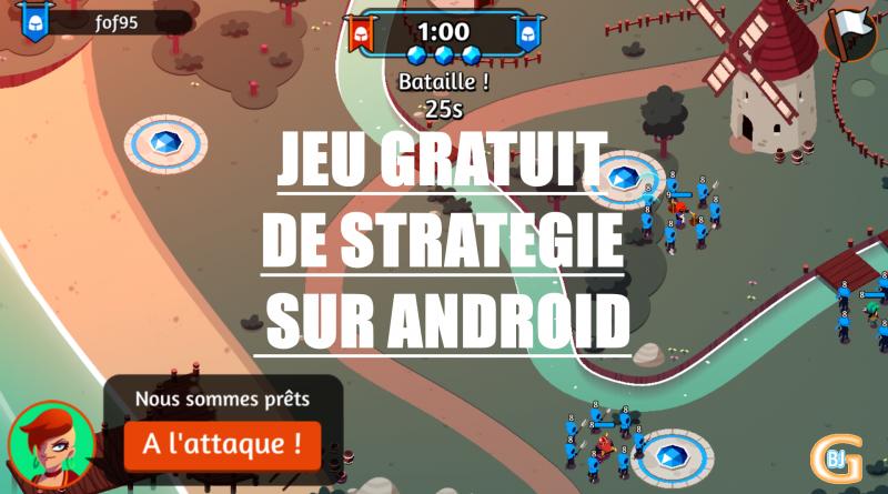 jeu gratuit strategie sur android