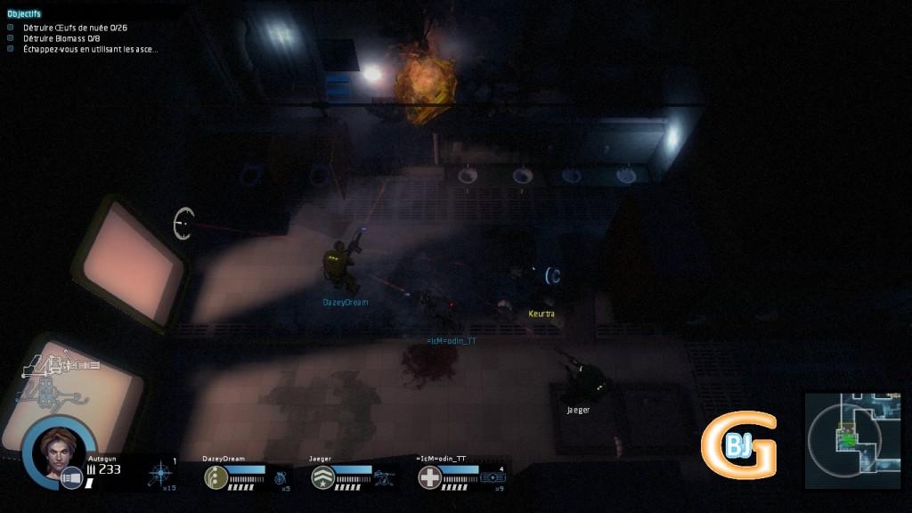 jeu de tir vue du dessus