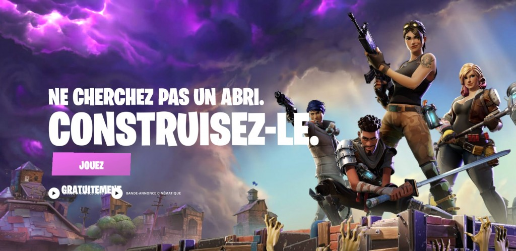 battle royale gratuit pc - fortnite