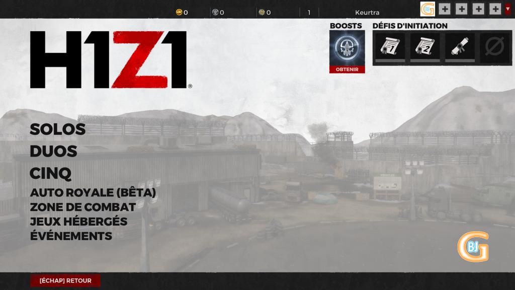mode de jeu battle royale gratuit pc h1z1