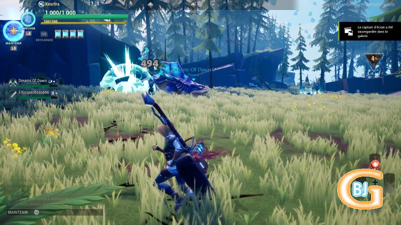 partie de chasse sur dauntless - bons jeux gratuits